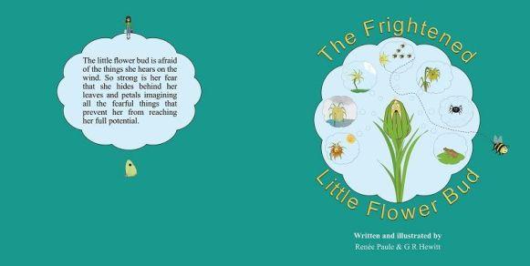 Frighened Little Flower Bud002